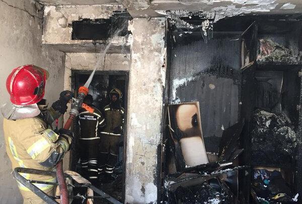 اختلال ارتباطی مانع حضور آتش نشانان میاندوآبی در حادثه آتش سوزی شد
