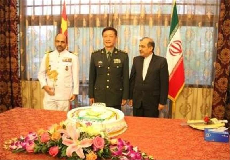 چینی ها روز ارتش را به همتایان ایرانی خود تبریک گفتند