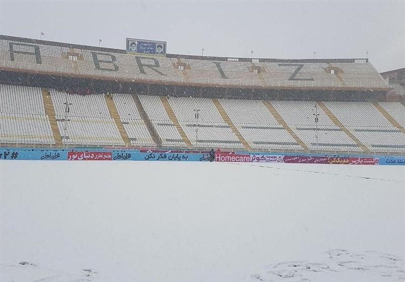 هیئت فوتبال آذربایجان شرقی: ملاقات تراکتور - سایپا لغو است، احتمال بازی در روز شنبه