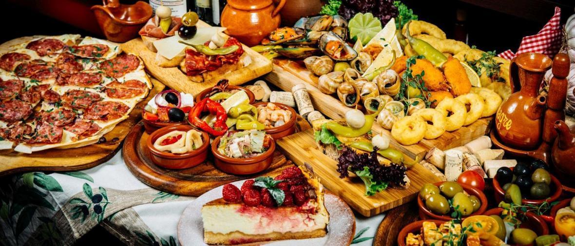 رژیم غذایی اسپانیا