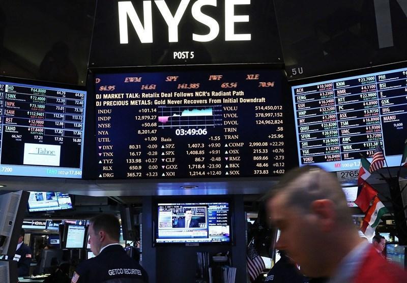 کاهش نرخ بهره هم مانع سقوط شاخص بازار سهام نیویورک نشد