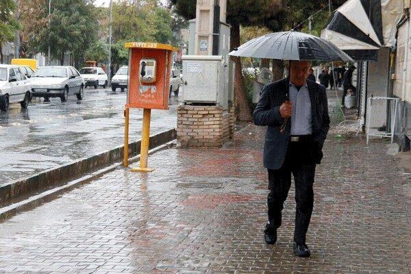 فعالیت سامانه بارشی جدید در آذربایجان شرقی