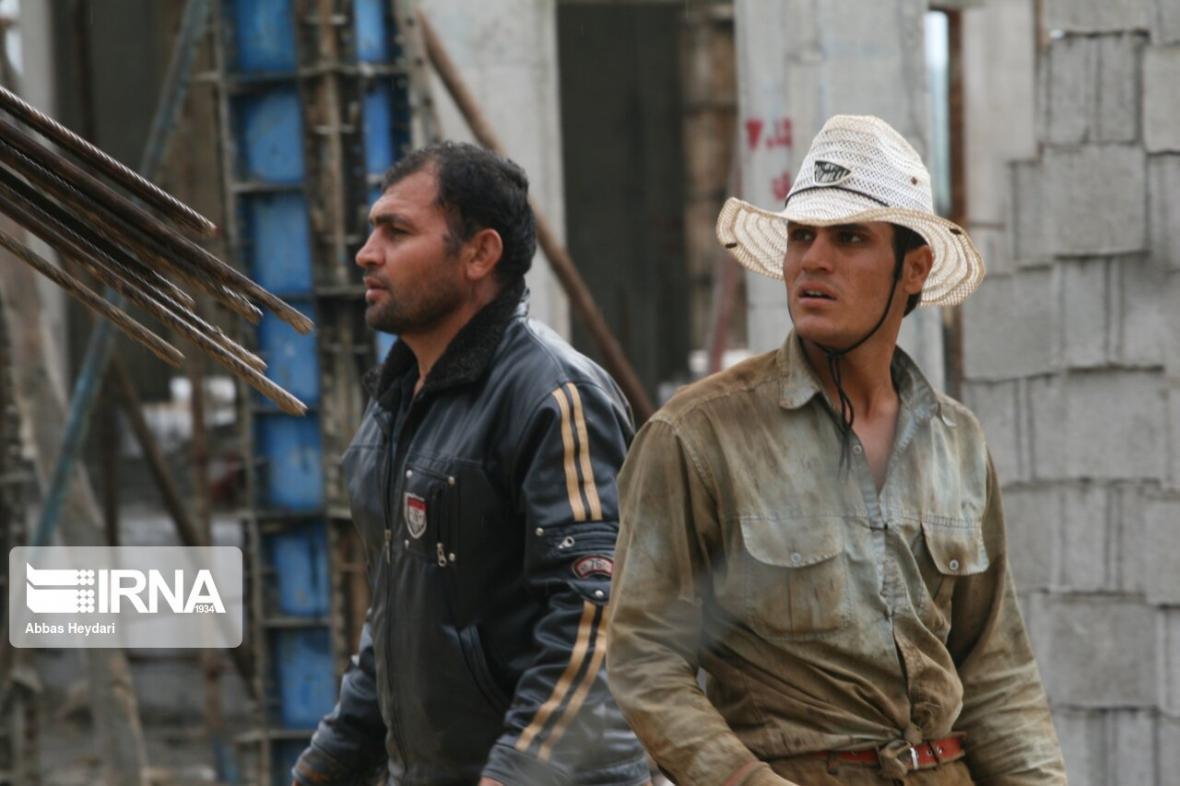 خبرنگاران زخمه کرونا بر زندگی کارگران ساختمانی