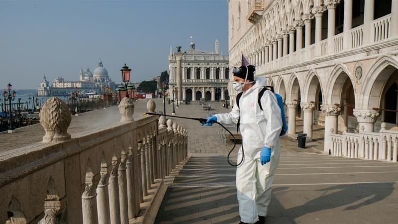 خبرنگاران شمار مرگ ومیر ناشی از کرونا در ایتالیا از 13 هزار نفر گذشت