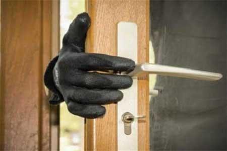 دستگیری دزد منزل