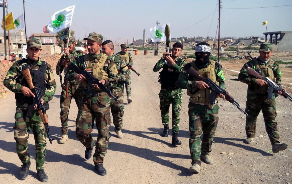 الحشد الشعبی از موفقیت عملیات پاکسازی مرز های جنوب غرب عراق خبر داد