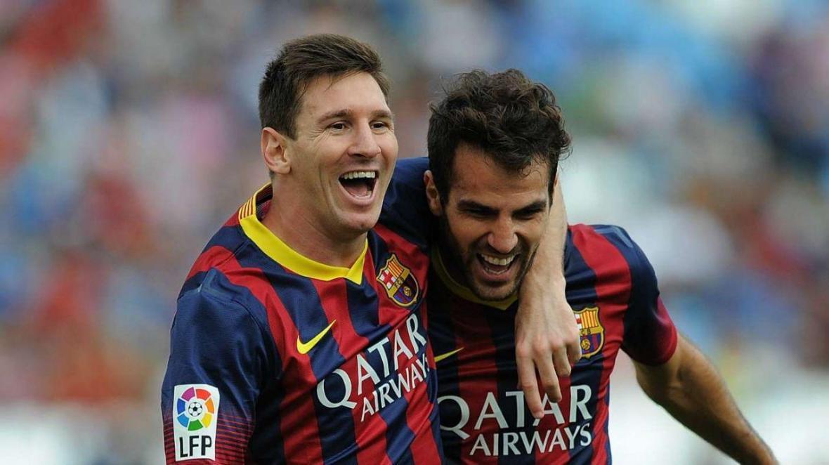 فابرگاس: مسی با پیراهن بارسلونا از فوتبال خداحافظی می کند