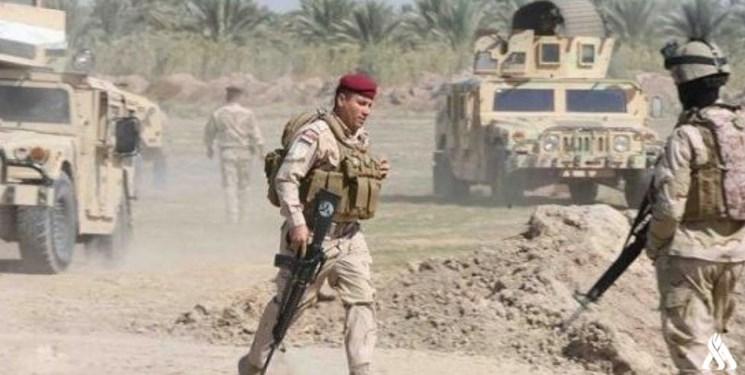 حمله نیروهای عراقی به یک آشیانه تروریست ها؛ یک عامل انتحاری کشته شد