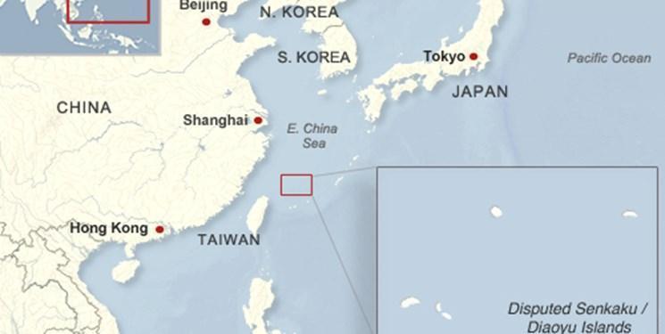 اعتراض ژاپن به حضور دو کشتی چینی در نزدیکی جزایر مورد مناقشه