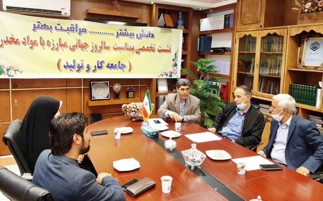آموزش پیشگیری از اعتیاد اولویت اداره کل تعاون آذربایجان شرقی است