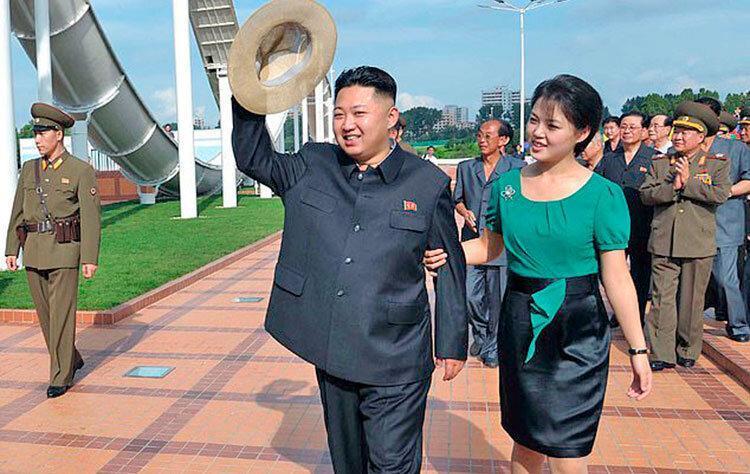 خشم رهبر کره شمالی از دیدن تصاویر زننده همسرش در شبنامه جنوبی ها