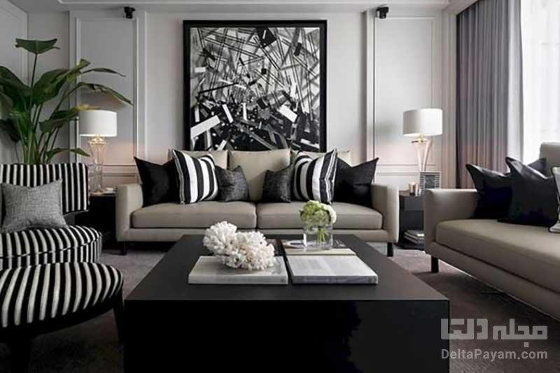 تضاد رنگی، راه حلی برای دیزاین مدرن منزل