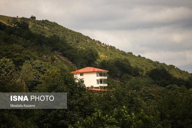 ماجرای خانه هایی که در پارک ملی گلستان سبز شدند