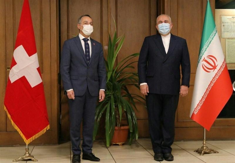 آغاز گفت وگوهای وزرای خارجه ایران و سوئیس