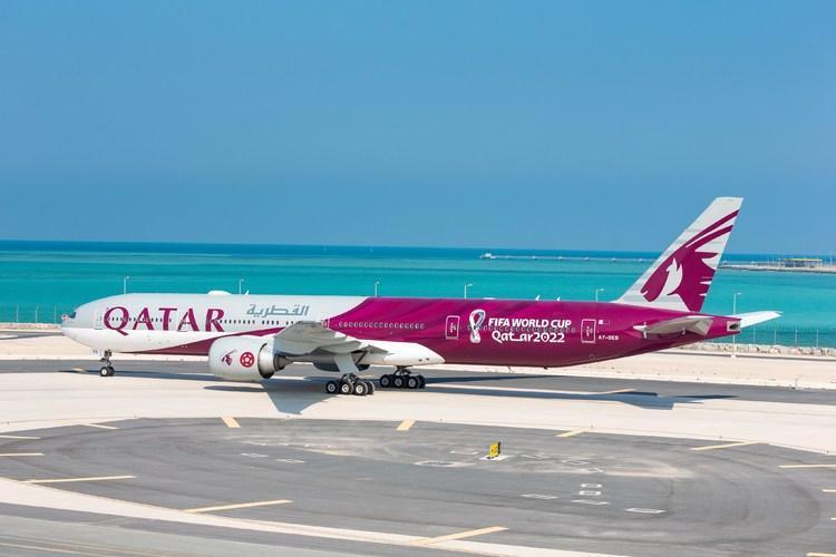 (عکس) رونمایی از هواپیمای جام جهانی 2022 قطر