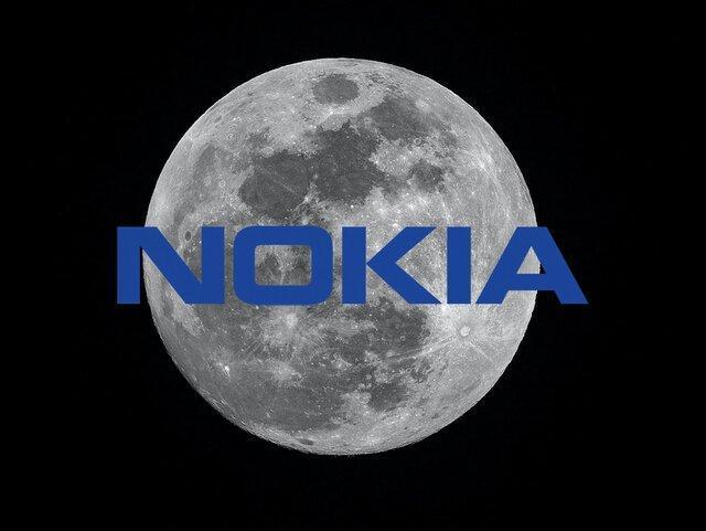 نوکیا، شبکه 4G را به ماه می برد