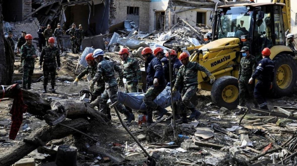 4 نظامی جمهوری آذربایجان در درگیری قره باغ کشته شدند