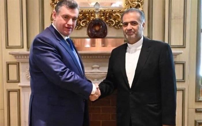 رایزنی سفیر ایران در مسکو با یک مقام دومای دولتی روسیه