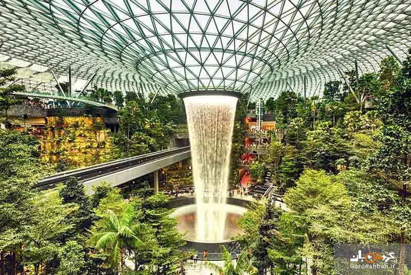 فرودگاه چانگی سنگاپور ؛ از بهترین فرودگاه های دنیا، عکس