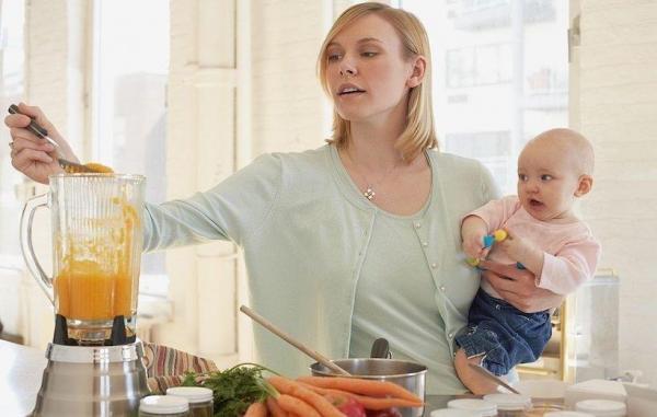 طرز تهیه 13 غذای خانگی برای بچه ها زیر 1 سال