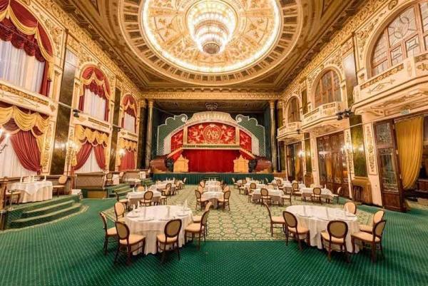 دکوراسیون جالب قدیمی ترین رستوران های مسکو
