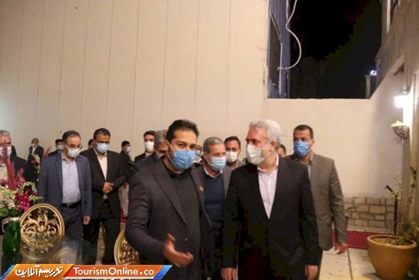 افتتاح بازارچه صنایع دستی مبارکی بوشهر با حضور دکتر مونسان