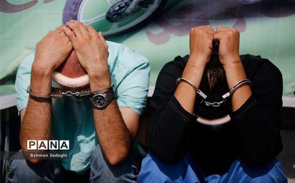81 دزد زورگیر خشن در طرح صاعقه دستگیر شدند