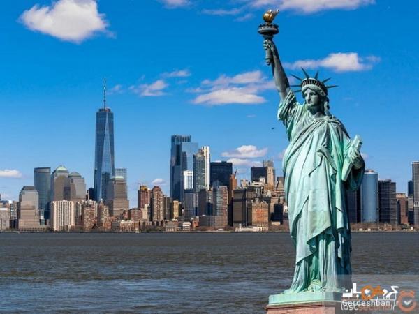 اطلاعات مهم درباره مجسمه آزادی آمریکا