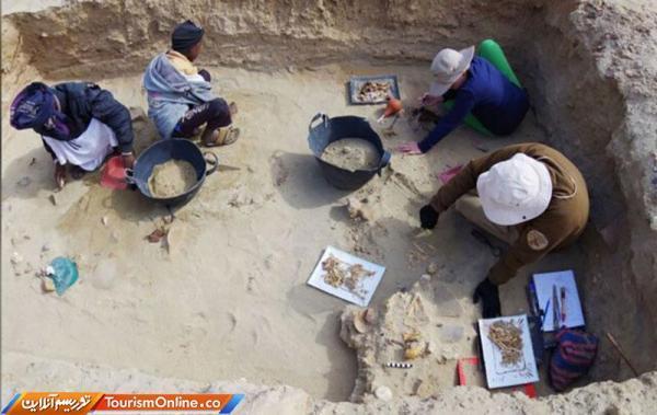 منطقه قزل قلعه فراهان کاوش باستان شناسی می گردد