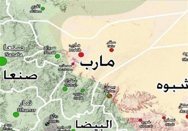 ارتش یمن کنترل مرکزی در غرب مأرب را به دست گرفت