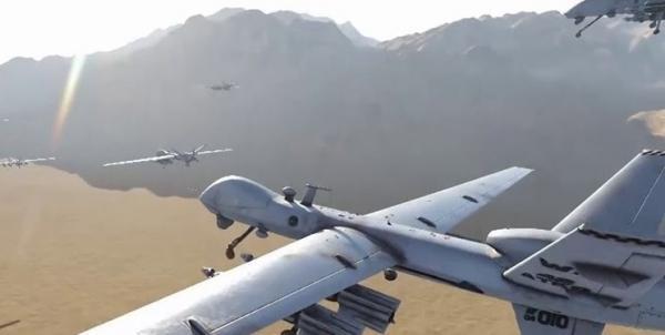 ائتلاف متجاوز سعودی مدعی مقابله با پهپاد یمنی شد
