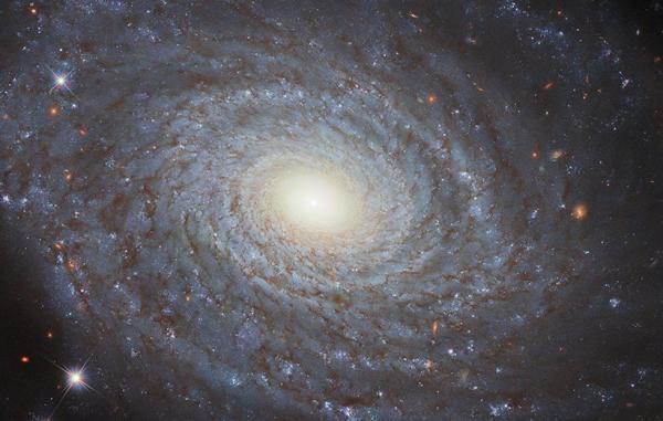 تلسکوپ هابل عکسی با جزئیات چشمگیر از کهکشان مارپیچی NGC 691 گرفت
