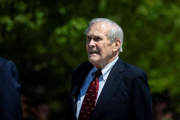 مرگ دونالد رامسفلد در 88 سالگی