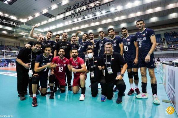 تور چین: نتیجه بازی والیبال ایران ، چین